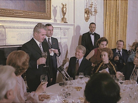 jimmy-carter-and-rosalynn-carter-host-state-dinner-for-the-president-of-romania-nicolae-ceausescu