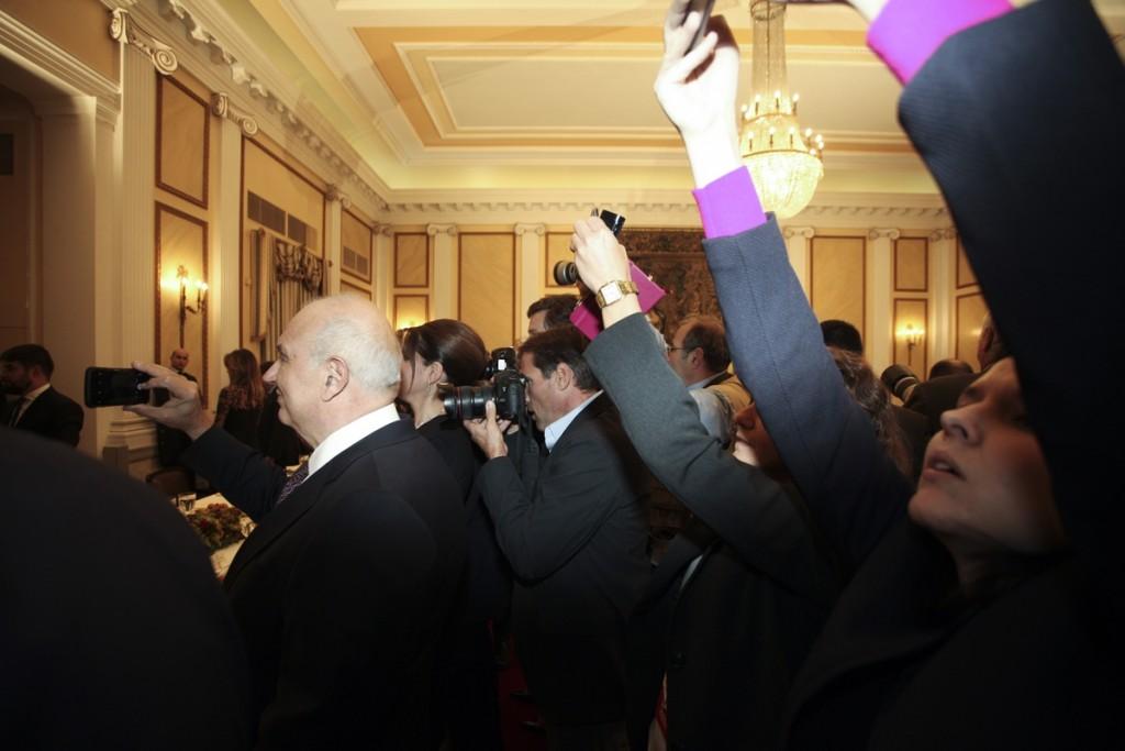 State dinner in U.S. President Obama's honor at the Presidential Mansion in Athens; Greece Nov. 15; 16