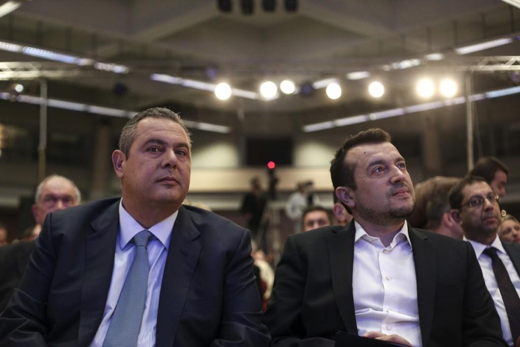Τρίτο συνέδριο του κόμματος των Ανεξαρτήτων Ελλήνων, στο ΣΕΦ, στις 11 Νοεμβρίου, 2016 / Third congress of the `Independent Greeks` Partry at Faliron, on Nov. 22, 2014