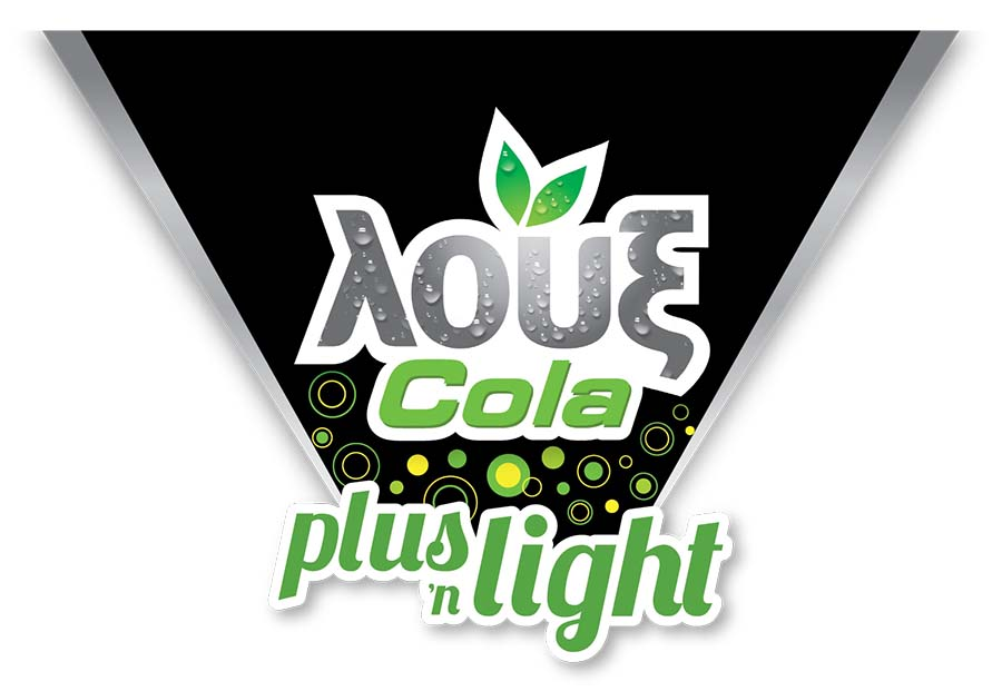 logo loux cola plus 'n light