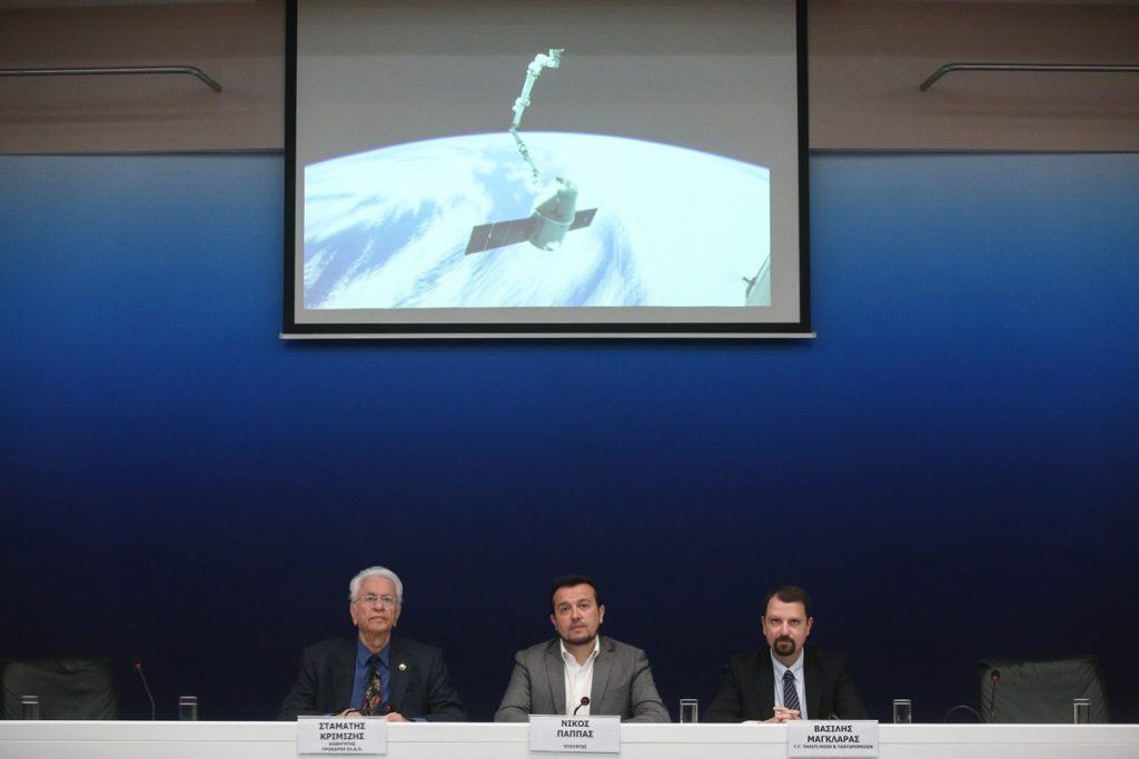 H πρώτη ελληνική διαστημική αποστολή είναι γεγονός!
