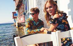 Η διάσημη ιταλική φίρμα διαφημίζει την καλοκαιρινή συλλογή της στο Νησί των Ανέμων